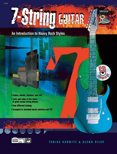 7-String Guitar - by Tobias Hurwitz & Glenn Riley (48-page Book & CD) cover image