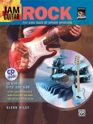 Jam Guitar: Rock (48-page Book & CD) cover image